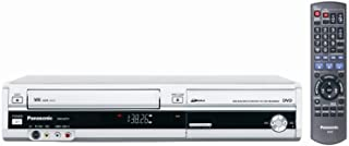 Panasonic DMR-EZ37VS DVD-Recorder/VCR Combo with ATSC Tuner Silver (Renewed)