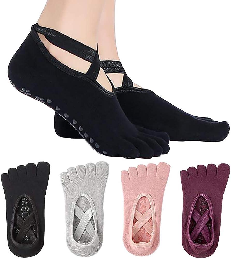 Yoga Direct sale of manufacturer Socks for Women Girls Ballet with Grip Award-winning store Full Toe
