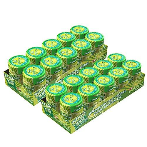 Twangerz Snack Topping, Lime, 1.15 Ounce Shaker (Pack of 20)