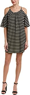 French Connection Womens Striped A-Line Dress