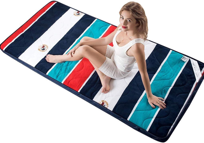 Thick Tatami Mattress Student Dormitory Floor Natural Environmental Sleeping Pad (color   1, Size   90x200cm)