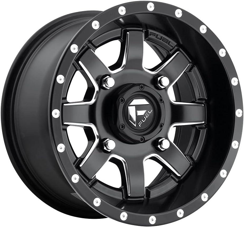 Fuel UTV Super special price D538 Maverick ATV 14x7 +38mm Milled Whe 4x156 Now on sale Black