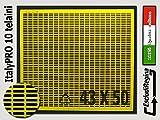 Agraria Ughetto Apicoltura ESCLUDI REGINA in Plastica ItalyPro 43x50 Yellow   Stock 10 pezzi   Made in Italy