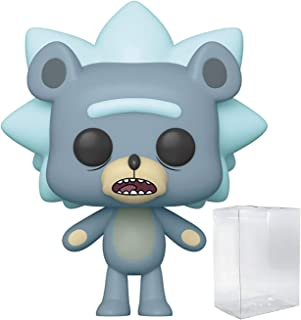 Pop Animation: Rick and Morty - Teddy Rick Pop! Vinyl Figure (Includes Compatible Pop Box Protector Case)