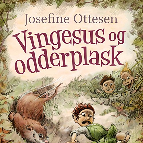 Vingesus og odderplask audiobook cover art