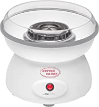 Pajoma Machine à barbe à papa grand bol Protection anti-éclaboussures ouate de sucre à barbe à papa Coque (Spar Same 500W...