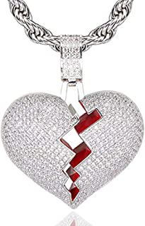 Best broken heart jewelry necklace Reviews