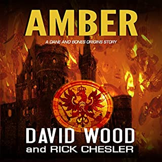Amber: A Dane and Bones Origins Story audiobook cover art