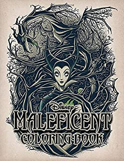 Maleficent Coloring Book: Great for Encouraging Creativity. Perfect Gift for Kids And Adults That Love Aurora & Maleficent With Over 50 Coloring Pages In High-Quality Images In Black And White.