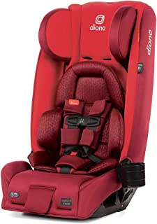 Diono 2020 Radian 3RXT, 4-in-1 Convertible, Extended Rear Facing, 10 Years 1 Car Seat, Fits 3 Across, Slim Fit Design, Red...