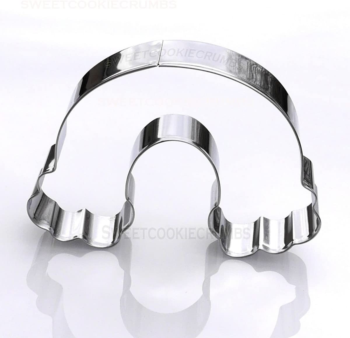 Rainbow Max 87% OFF Cloud Cookie Cutter lowest price Stainless Steel -