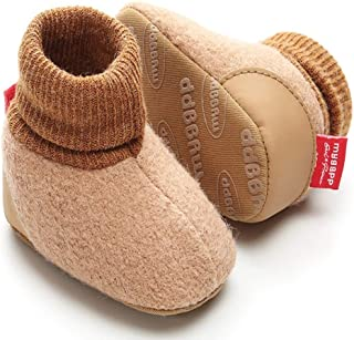 Sabe Unisex Infant Baby Boys Girls Winter Warm Bootie Soft Sole Prewalker Crib Casual Shoes Sneakers Boots