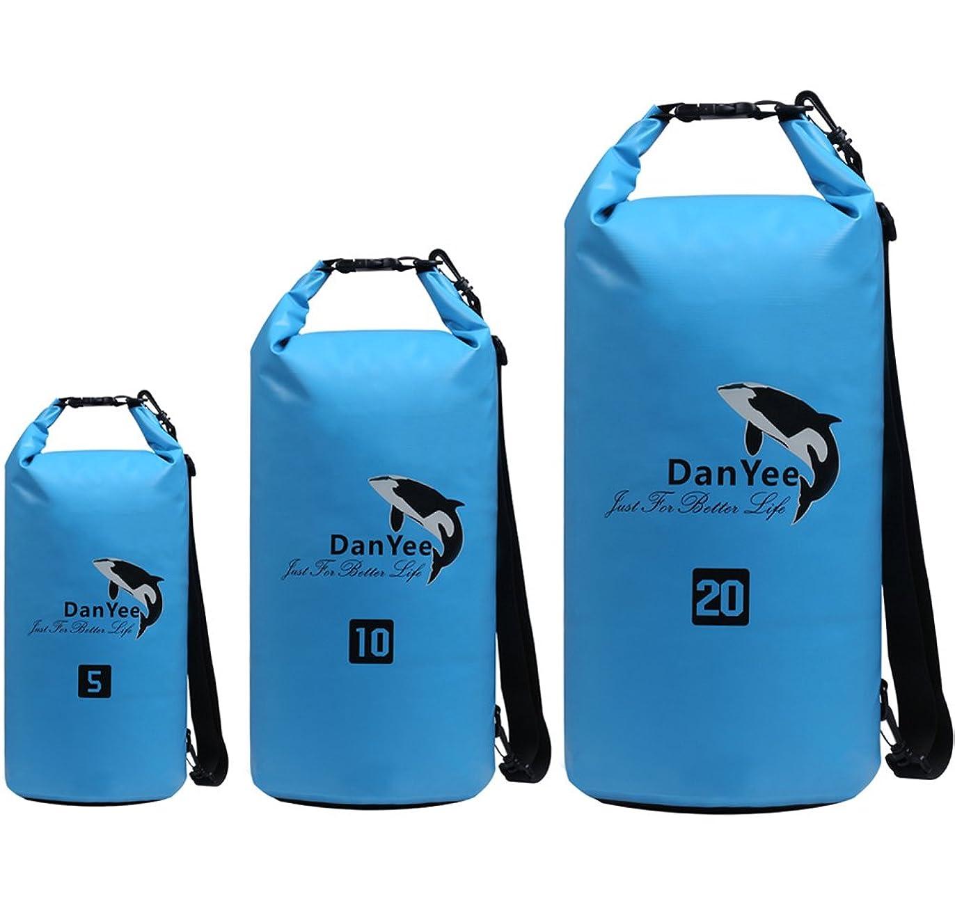 バンドル小競り合い知事ドライバッグ 防水ポーチ [Danyee一年間保証] 5L 10L 20L 3色全 アウトドア 釣り 海水浴 防災 旅行