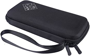 Zaracle for Graphing Calculator Texas Instruments TI-84 / Plus CE Hard EVA Carry Case Handheld Storage Case Travel Bag Protective Pouch Box (Black)