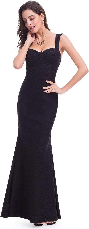 EverPretty Elegant Lace Sweetheart Floor Length Evening Dress 07041