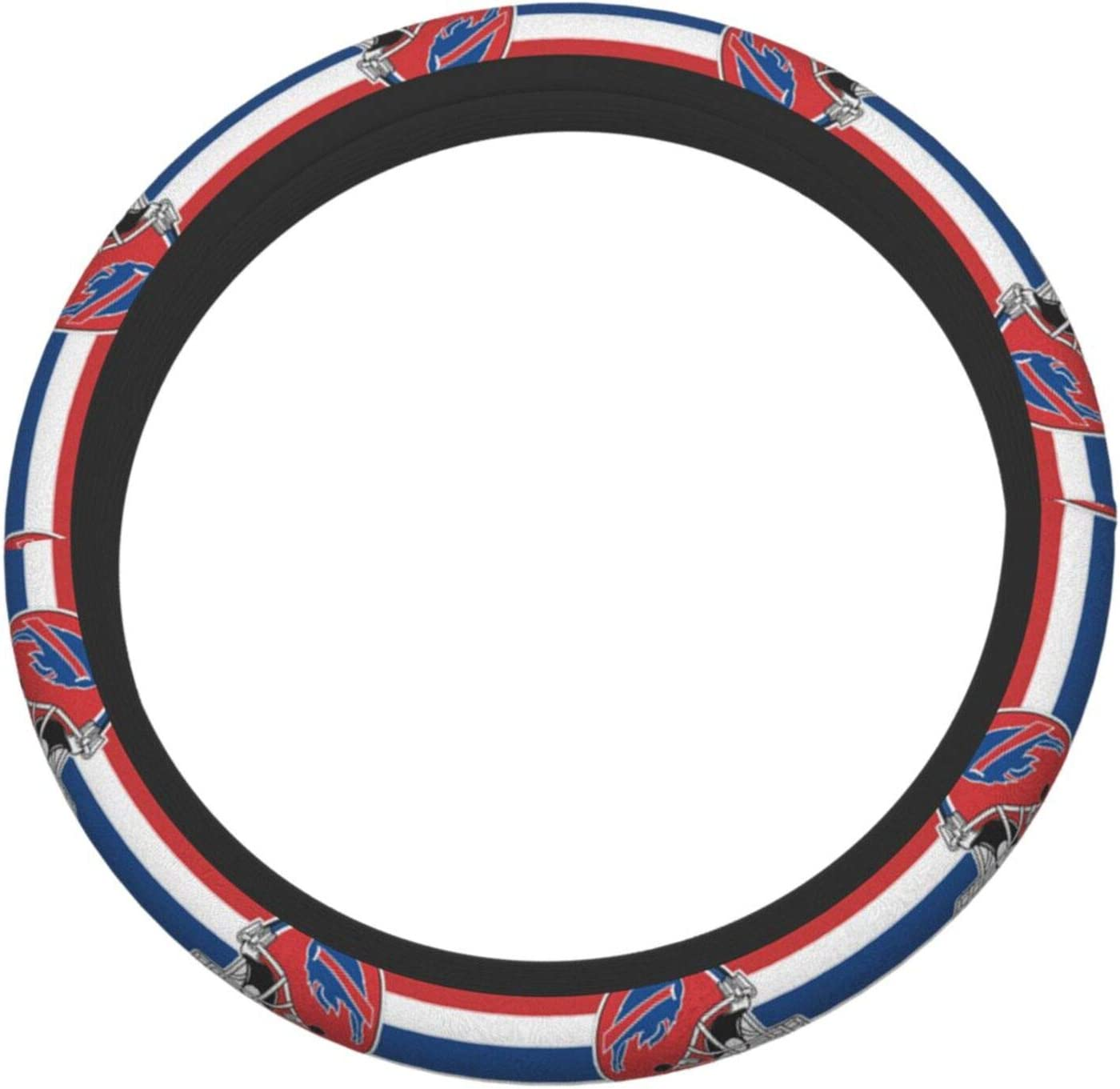 Suzzc Rugby Team Steering Wheel Cover Anti-Slip and Odorless Interior Decoration for Car