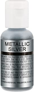 Chefmaster by US Cake Supply .7fl oz Metallic Silver Airbrush Food Coloring