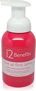 12 Benefits Love at First Lather Mousse Shampoo for Unisex, 8 Ounce
