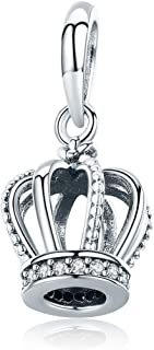 925 Sterling Silver Bead Charms Forever Family Charm Anchor Good Luck Charms Women Bead Charm Fit Bracelet Necklace