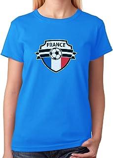 Tstars - France Soccer Team Fans Women T-Shirt