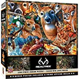 MasterPieces Realtree 1000 Puzzles Collection - Forest Beauties 1000 Piece Jigsaw Puzzle