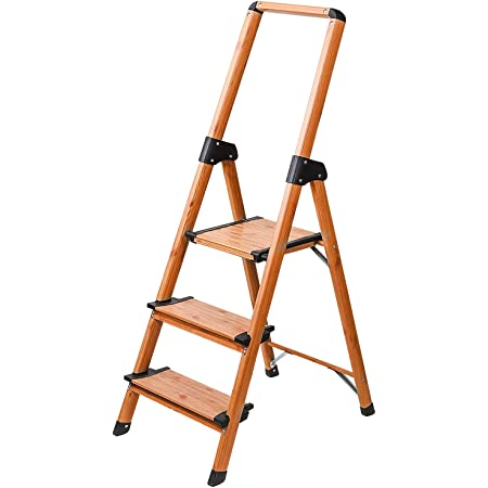Leiter Holz 3 Sprossen