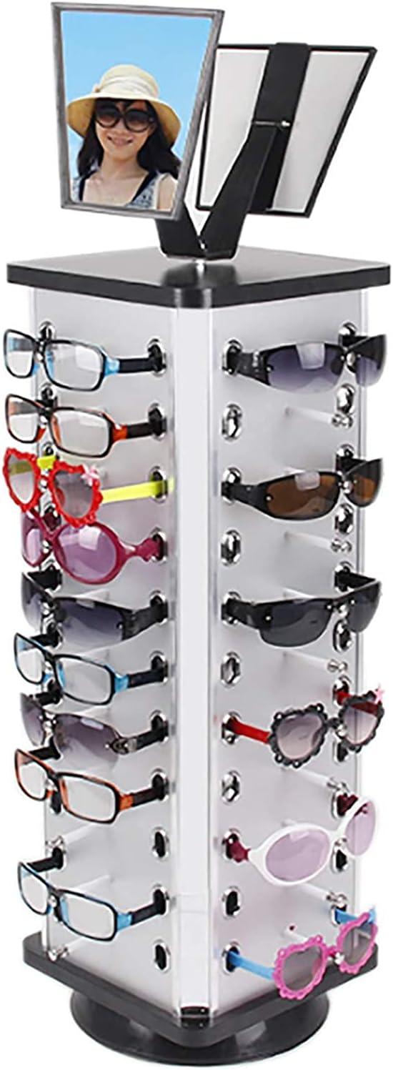 DNYSYSJ Glasses Display Stand Rotating Sunglasses Display Rack,4