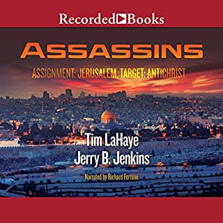 Assassins     Left Behind, Volume 6              By:                                                                                                                                 Tim LaHaye,                                                                                        Jerry B. Jenkins                               Narrated by:                                                                                                                                 Richard Ferrone                      Length: 11 hrs and 10 mins     647 ratings     Overall 4.6