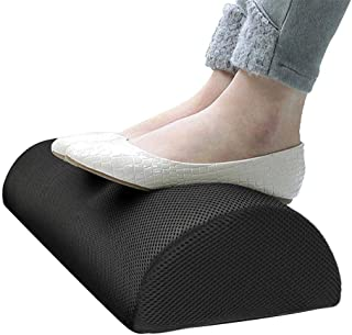 Coolchic Foot Rest Under Desk Cushion, Office Foot Rest at Work Ergonomic Footrest Pure Memory Foam with Handle Non-Slip S...
