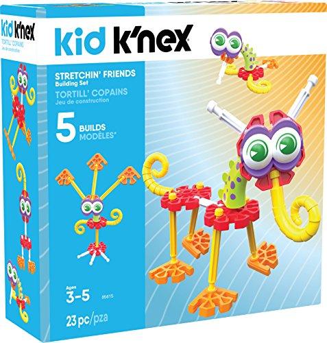 K'NEX Kid Stretchin' Friends Building Set – 23Piece – Ages 3 & Up Preschool Educational Toy Building Set