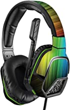 MightySkins Skin Compatible with PDP Xbox One Afterglow LVL 3 Headset - Rainbow Streaks   Protective, Durable, and Unique Vinyl wrap Cover   Easy to Apply, Remove, and Change Styles   Made in The USA