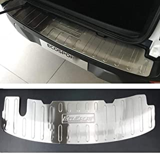 Accessori per Lo Styling DellAuto Striscia di Protezione AntiGraffio per Davanzale del Bagagliaio Posteriore QWASZX Protezione per Paraurti Posteriore in Acciaio Inossidabile per M-azda CX-30 2020