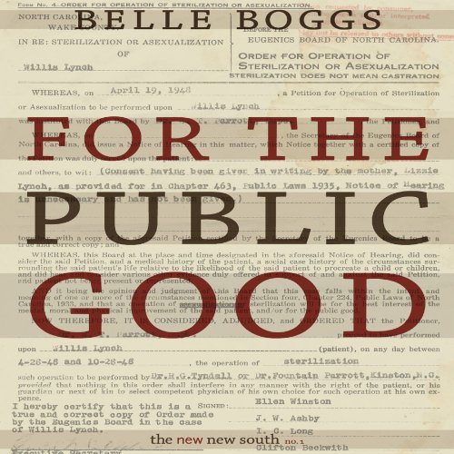 For the Public Good cover art