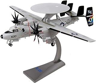 مجموعة نماذج الطائرات العسكرية ، المقياس 1: 72 E-2C Hawkeye نموذج سبيكة الإنذار المبكر ، ألعاب أطفال