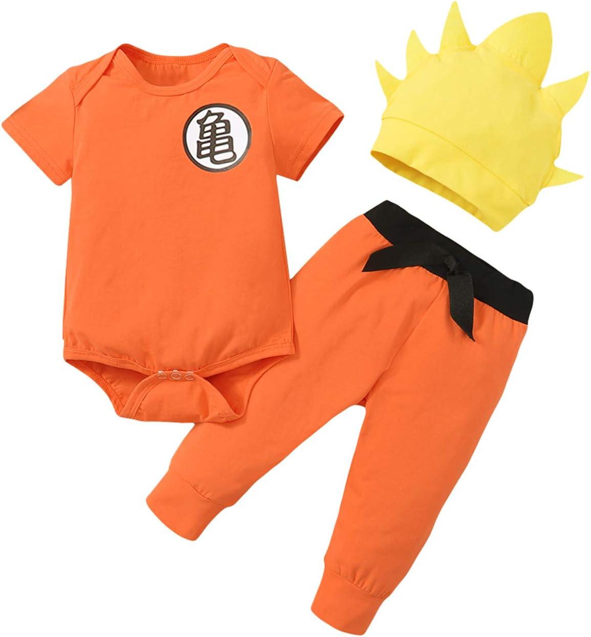 Singcoco Baby San Antonio Mall Goku Outfit Orang Boy New York Mall Costume