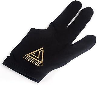 CUESOUL 10pcs / Set 3-Finger-Handschuhe Billard Snooker Queue Handschuhe