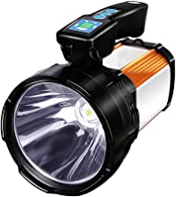 1500 Lumens Flashlight Outdoor Long-Range Portable Light Rechargeable Searchlight Waterproof Lighting Durable Lantern