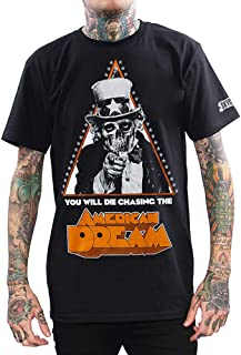 Skygraphx Mens American Dream Uncle Sam Skull T-Shirt