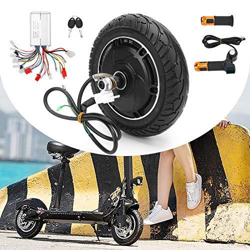 SHYEKYO Juego de conversión de Scooter eléctrico de 8 Pulgadas, Motor de Cubo sin escobillas de Alta confiabilidad Resistente al Desgaste para Scooter de 8 Pulgadas Neumáticos de 200 x 50 para