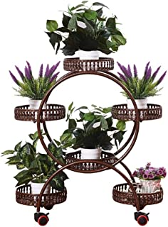 Plant Containers & Accessories Flower stand floor stand bedroom plant flower display stand garden decoration storage shelf...