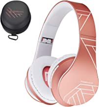 PowerLocus Bluetooth Over-Ear Headphones, Wireless Stereo Foldable Headphones Wireless..