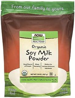 Now Foods Organic Soy Milk Powder, 20 oz