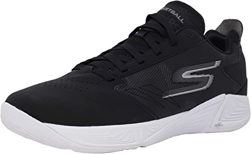 Skechers Men's Torch - Lt noir blanc Ankle-High Basketball chaussures 9M