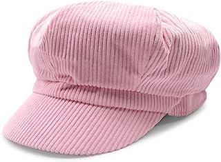 5707ddbf ZLSLZ Womens Retro Corduroy Ivy Newsboy Paperboy Cabbie Gatsby Painter Hats  Caps