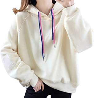〓COOlCCI〓Womens Plus Fashion Hoodies /& Sweatshirts Loose Drawstring Pullover Hoodies Tie Dye Pullover Tops Blouse