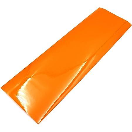 Finest Folia Scheinwerferfolie Tönungsfolie Us Style Folie Blinker Nebelscheinwerfer Tint Film Orange Auto
