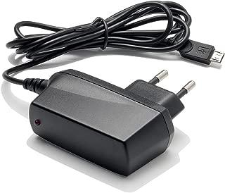 Slabo Chargeur Secteur Micro USB - 1000mA - pour Lenovo K6 / P2 / C2 / Moto G4 / G4 Plus / G4 Play / E3 / Moto G5 / G5 Plus Téléphone Portable Chargeur de Voyage Chargeur Rapide - Noir