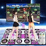 JHKGY Alfombra De Baile Running Blanket Yoga Game Machine Máquina De Aprendizaje De Masaje,Calidad HD, Luz,Juegos De Baile Estilo Arcade con Pistas De Música Incorporadas Y Tecnología Inalámbrica