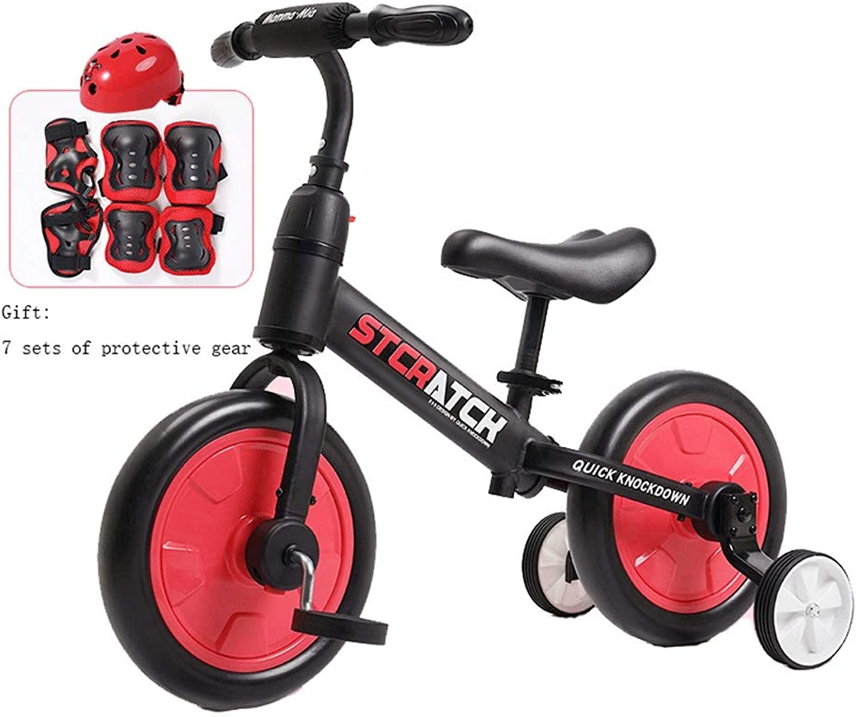 marca en liquidación de venta Bicicleta para Niños Niños Niños Freestyle Boy Girl, Construcción De Acero Al Cochebono, con Estabilizador, Desmontaje con Un Solo Botón Dos Colors (Color   B, Talla   Big)  tienda en linea