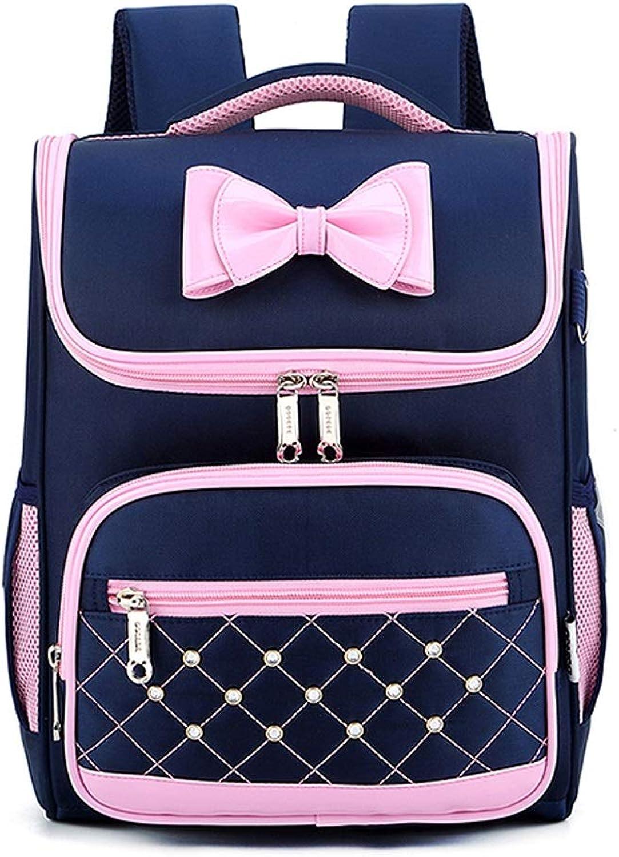 JIAHE115 Schoolbag HJCA19050123741 cute girl princess bag light ridged schoolbag ( color   bluee )